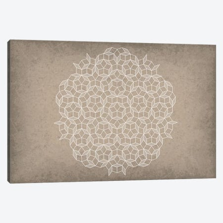 Penrose Tiling Canvas Print #GYO119} by GetYourNerdOn Canvas Art