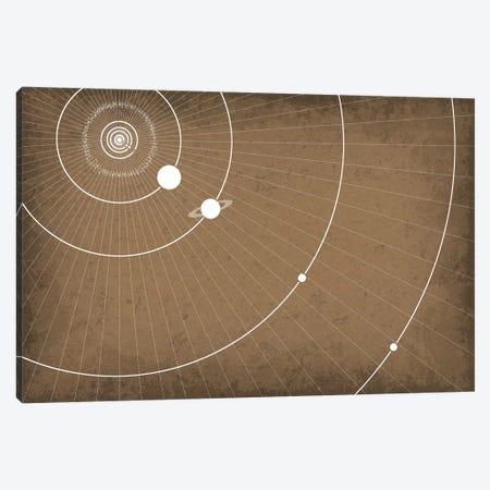 Planet Orbits Canvas Print #GYO120} by GetYourNerdOn Canvas Art Print