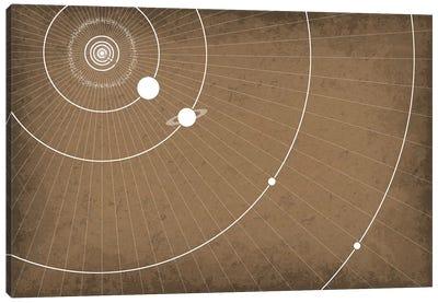 Planet Orbits Canvas Art Print