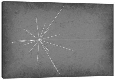 Pulsar Map Canvas Art Print