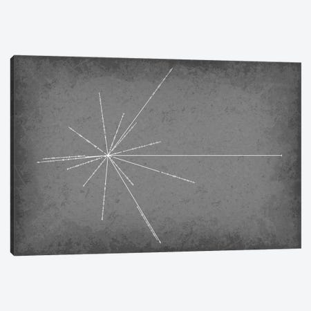 Pulsar Map Canvas Print #GYO121} by GetYourNerdOn Art Print