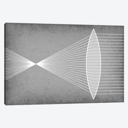 Refraction Through a Convex Lens Canvas Print #GYO123} by GetYourNerdOn Canvas Print