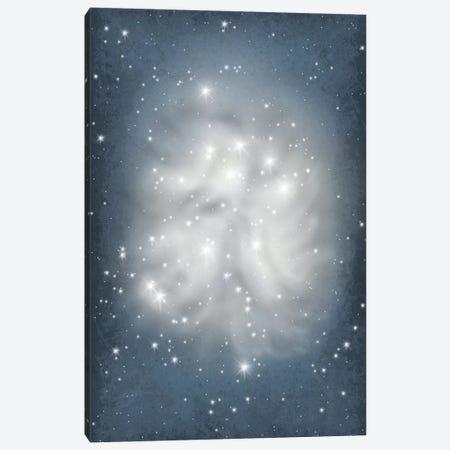 Pleiades Star Cluster Illustration Canvas Print #GYO131} by GetYourNerdOn Canvas Artwork
