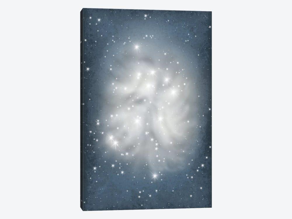 Pleiades Star Cluster Illustration by GetYourNerdOn 1-piece Canvas Wall Art
