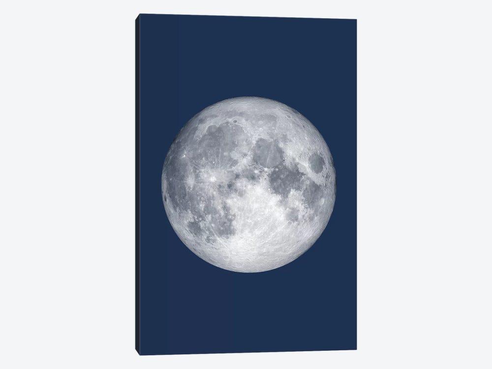 Full Moon - Blue by GetYourNerdOn 1-piece Canvas Artwork