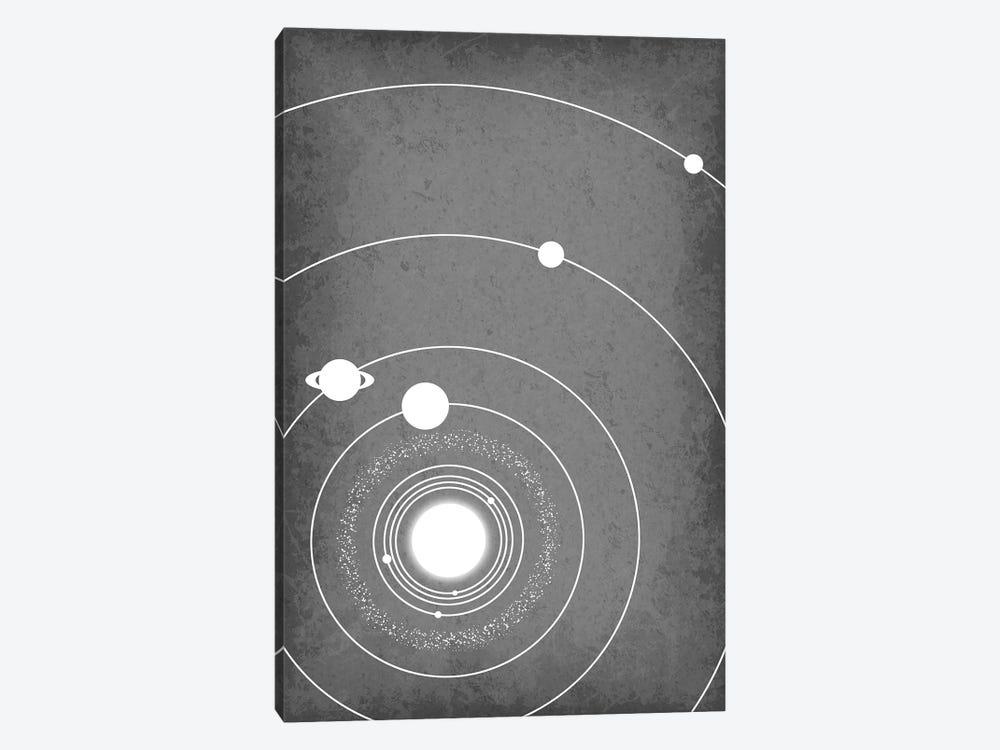 Minimalist Solar System III by GetYourNerdOn 1-piece Canvas Art