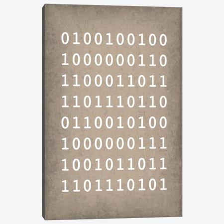 "Binary Code ""I love you"" 3-Piece Canvas #GYO161} by GetYourNerdOn Canvas Art Print"