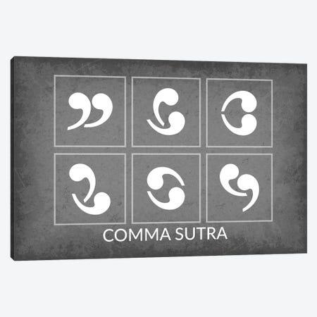 Comma Sutra Canvas Print #GYO165} by GetYourNerdOn Canvas Wall Art