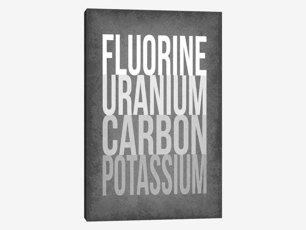 F*** (Periodic Element Names) by GetYourNerdOn 1-piece Art Print