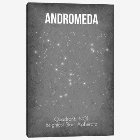 Andromeda Canvas Print #GYO17} by GetYourNerdOn Canvas Print