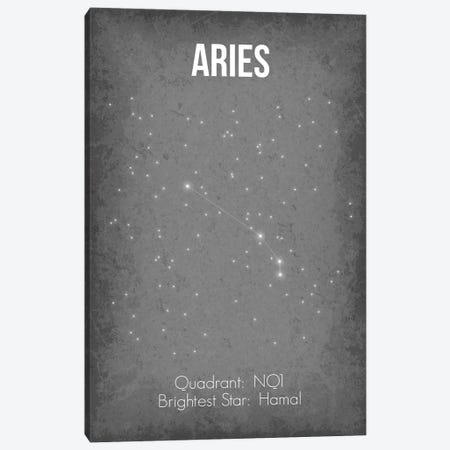 Aries Canvas Print #GYO19} by GetYourNerdOn Canvas Wall Art
