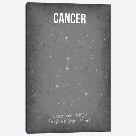 Cancer Canvas Print #GYO20} by GetYourNerdOn Art Print