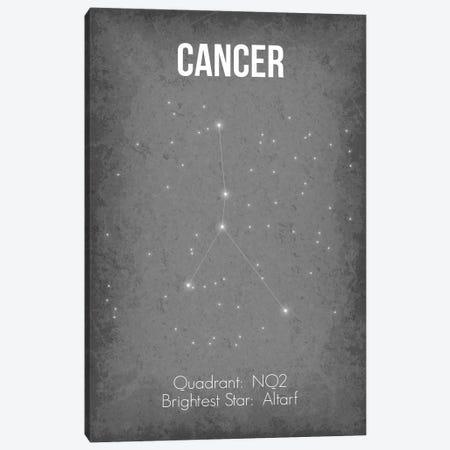 Cancer Canvas Print #GYO20} by GetYourNerdOn Art Print
