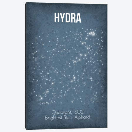 Hydra Canvas Print #GYO27} by GetYourNerdOn Canvas Artwork
