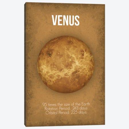 Venus Canvas Print #GYO2} by GetYourNerdOn Canvas Wall Art