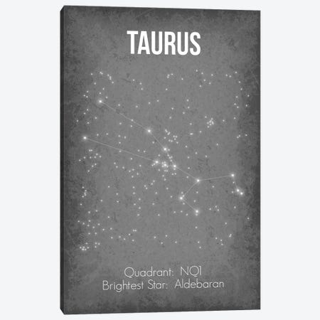 Taurus Canvas Print #GYO38} by GetYourNerdOn Canvas Art