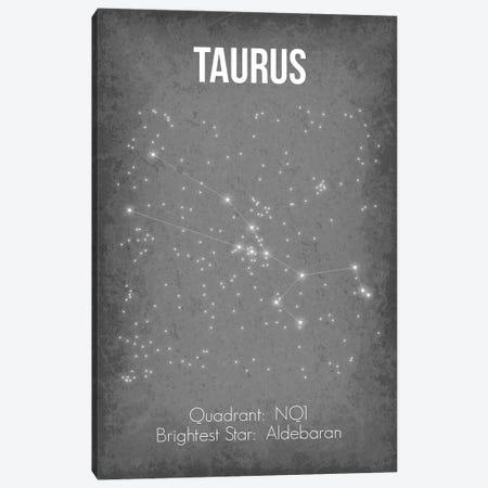 Taurus Canvas Print #GYO38} by GetYourNerdOn Canvas Art