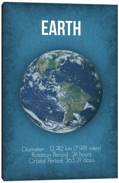 Earth Canvas Art Print