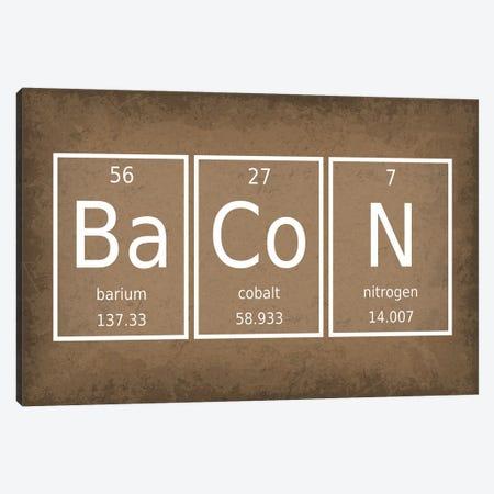 Bacon Canvas Print #GYO43} by GetYourNerdOn Canvas Print
