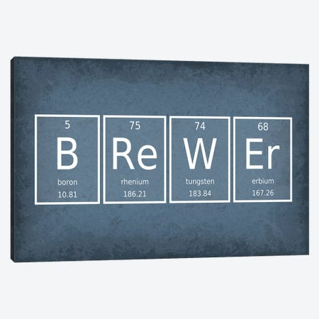 Brewer Canvas Print #GYO48} by GetYourNerdOn Canvas Art Print
