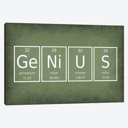 Genius 3-Piece Canvas #GYO52} by GetYourNerdOn Canvas Wall Art