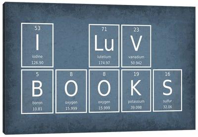 I Luv Books Canvas Art Print