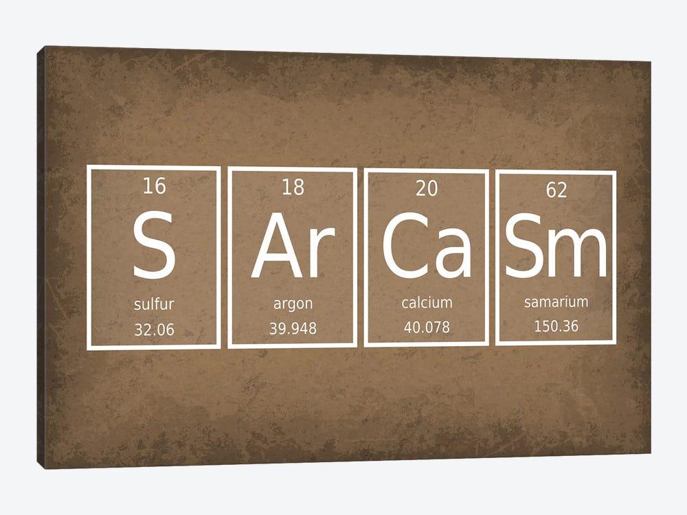 Sarcasm by GetYourNerdOn 1-piece Canvas Art