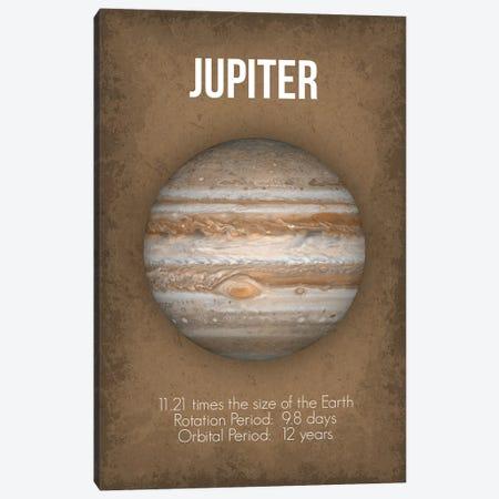 Jupiter Canvas Print #GYO5} by GetYourNerdOn Art Print