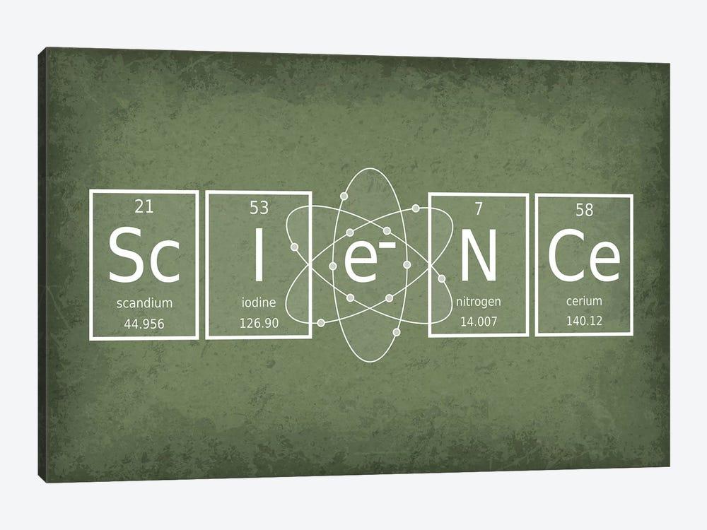 Science by GetYourNerdOn 1-piece Canvas Wall Art