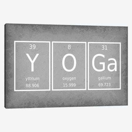 Yoga Canvas Print #GYO69} by GetYourNerdOn Canvas Print