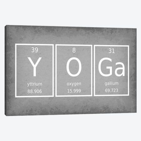 Yoga Canvas Print #GYO69} by GetYourNerdOn Canvas Print