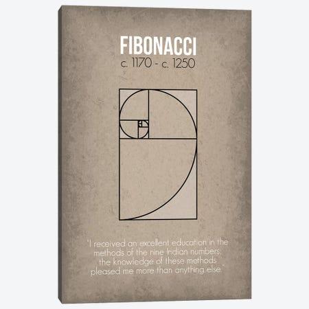 Fibonacci Canvas Print #GYO74} by GetYourNerdOn Canvas Art Print