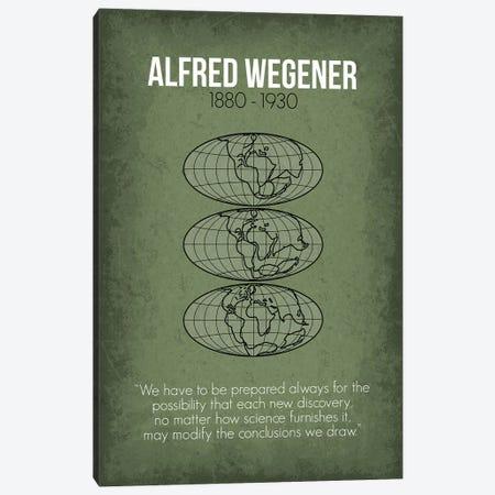 Alfred Wegener Canvas Print #GYO78} by GetYourNerdOn Canvas Art