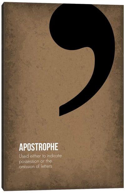 Apostrophe Canvas Art Print