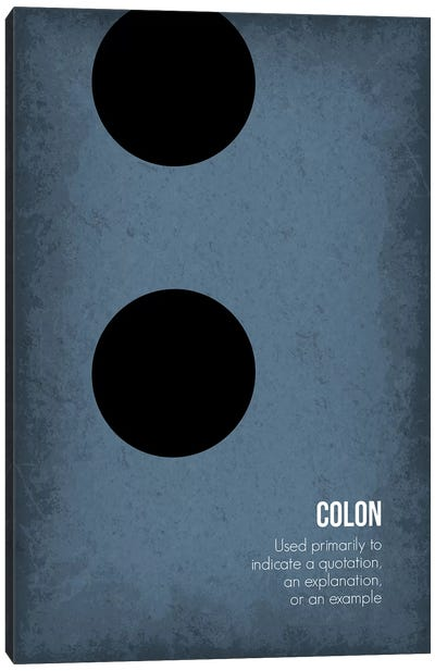 Colon Canvas Art Print