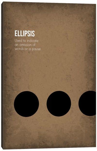 Ellipsis Canvas Art Print