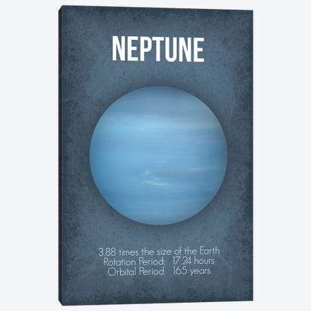 Neptune Canvas Print #GYO8} by GetYourNerdOn Canvas Art
