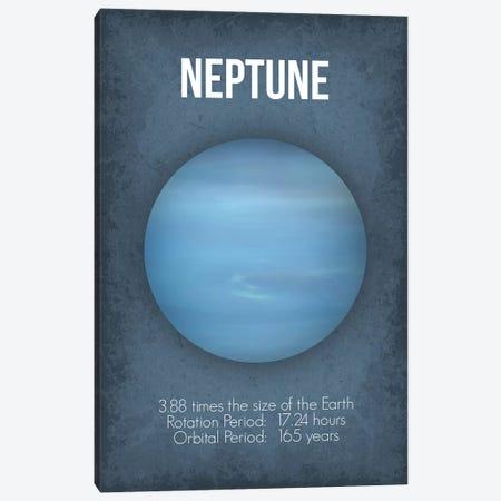 Neptune Canvas Print #GYO8} by GetYourNerdOn Canvas Art