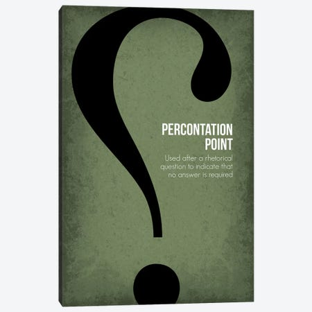 Percontation Point Canvas Print #GYO92} by GetYourNerdOn Canvas Art