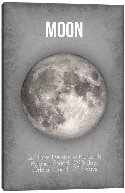Moon Canvas Art Print