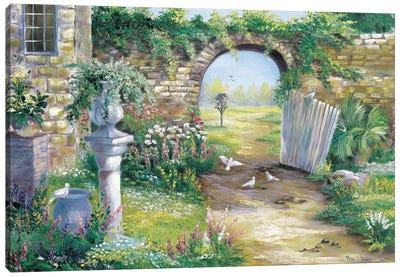 A Garden Gone Wild Canvas Art Print