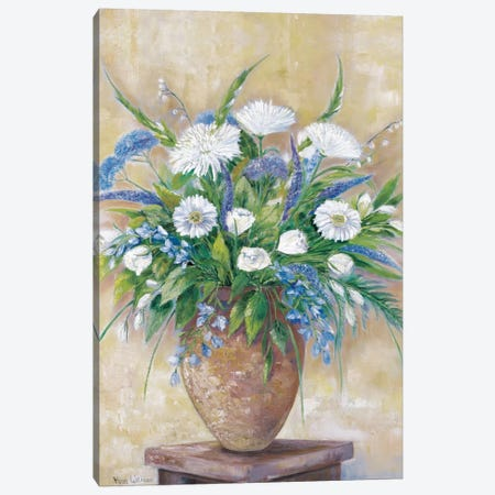 A Scentful Bouquet Canvas Print #HAA2} by Rian Withaar Canvas Artwork
