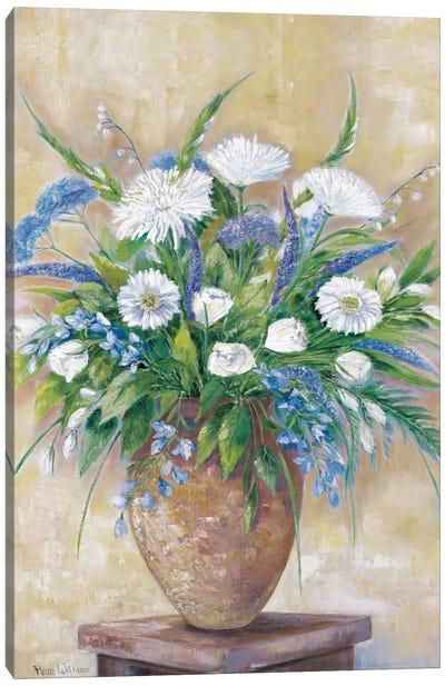 A Scentful Bouquet Canvas Art Print