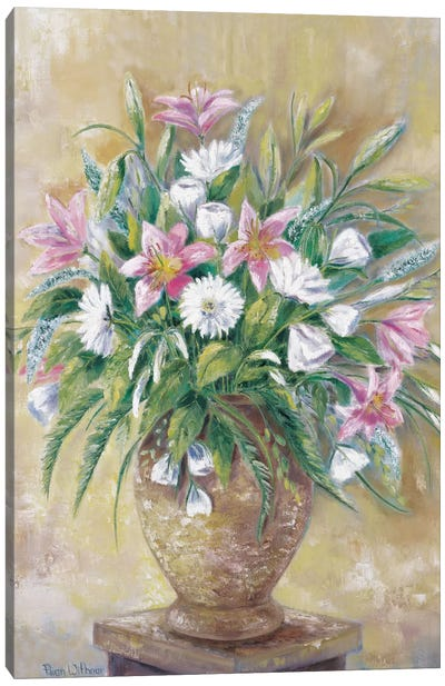 Fragrant Flowers Canvas Art Print