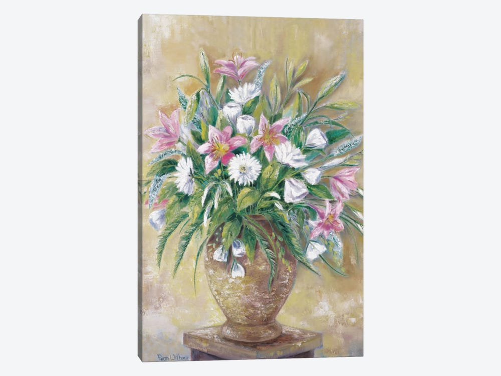 Fragrant Flowers by Rian Withaar 1-piece Canvas Art Print