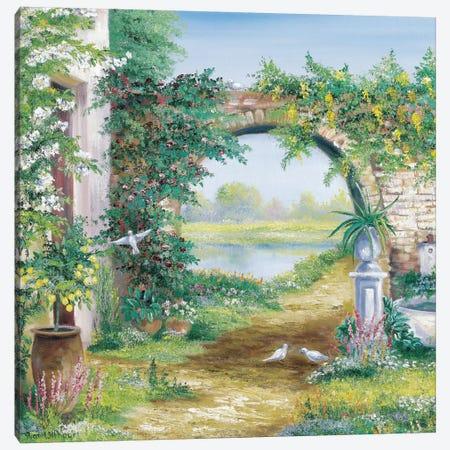 Let The Garden Go Canvas Print #HAA6} by Rian Withaar Canvas Print