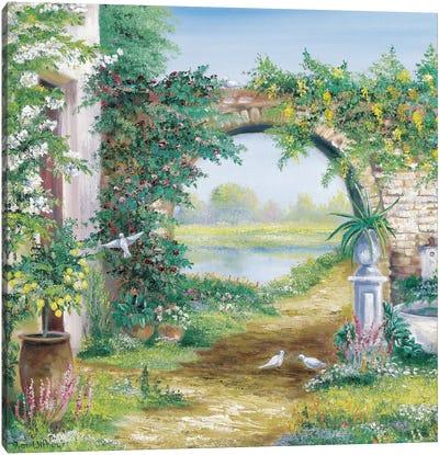 Let The Garden Go Canvas Art Print