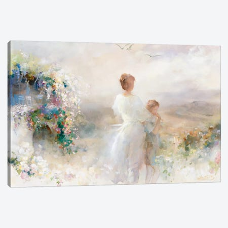 Beautiful View Canvas Print #HAE100} by Willem Haenraets Canvas Art Print