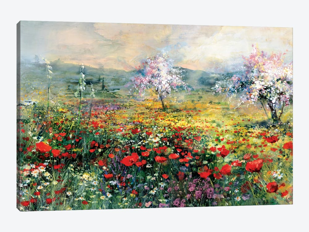 Between The Poppies by Willem Haenraets 1-piece Art Print