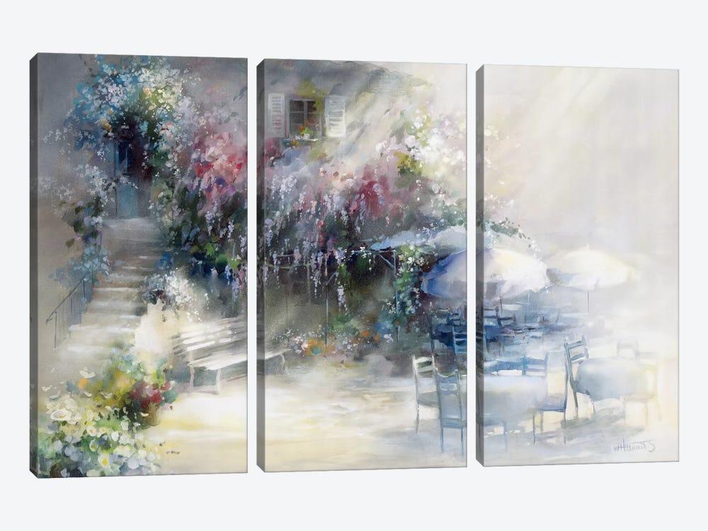 Blue Garden by Willem Haenraets 3-piece Canvas Artwork